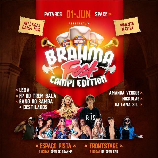BRAHMA FEST CAMPI EDITION