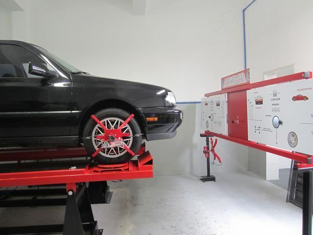 Alinhar e balancear carro pequeno