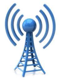Internet via radio