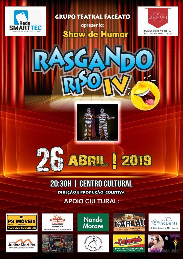 RASGANDO RISO IV