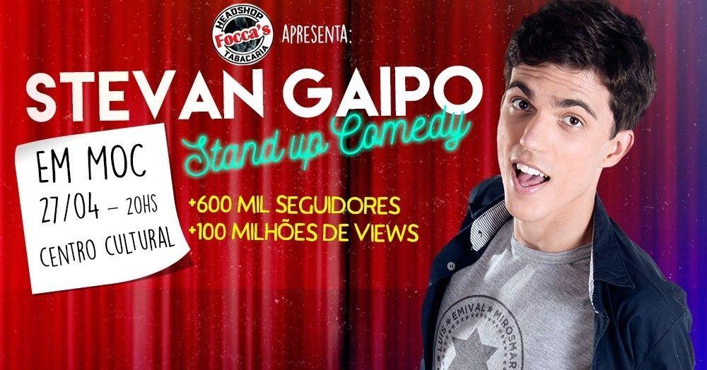 Stevan Gaipo em Moc - Stand Up Comedy