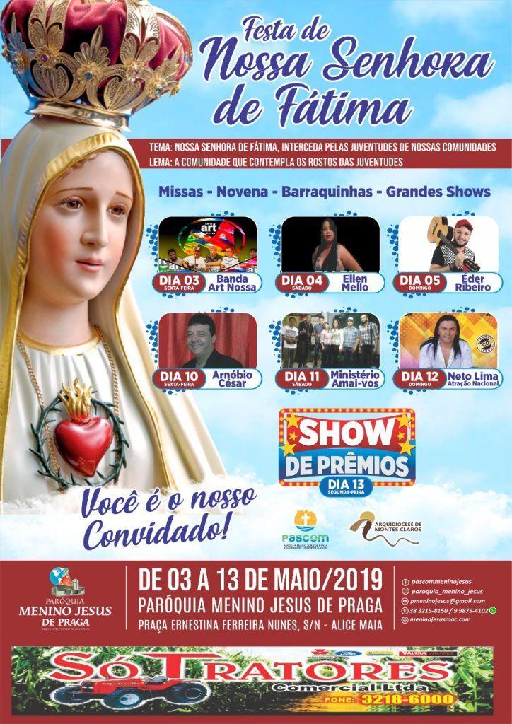 FESTA DE NOSSA SENHORA DE FÁTIMA
